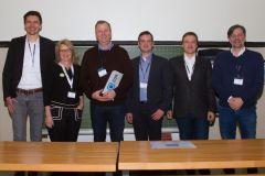 83 - Heiko Lorenzen (DeutschlandCard, Germany), Dr. Anke Müller-Peters (marktforschung.de, Germany) and GOR Best Practice Award Winners