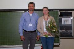 87 - GOR Thesis Award 2019: Jury Member Markus Weiß (Questback, Germany) and winner Nadja Sigle (University of Applied Sciences Stuttgart, Germany)