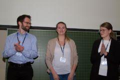 85 - GOR Thesis Award 2019 Nominees: Marius Becker (Technische Universität Ilmenau, Germany), Nadja Sigle (University of Applied Sciences Stuttgart, Germany) and Jasmin Lehmann (TU Ilmenau, Germany)